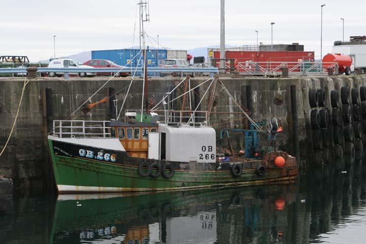 Fishing boat OB266 Mallaig