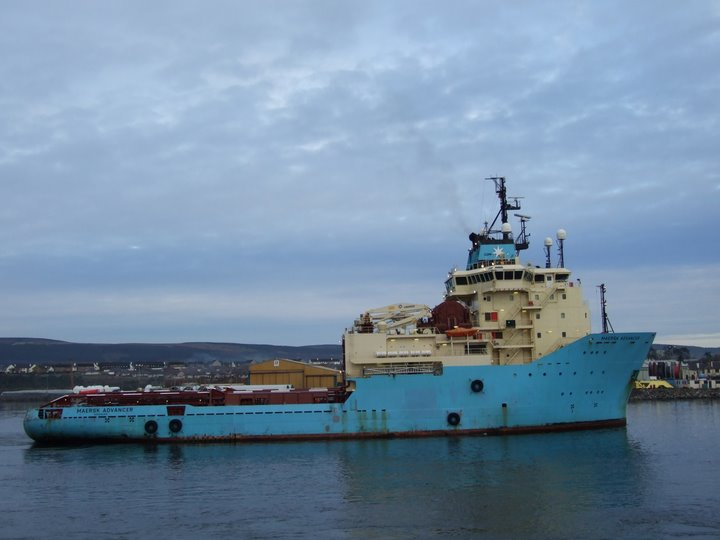 A.H.T.S  Maersk Advancer