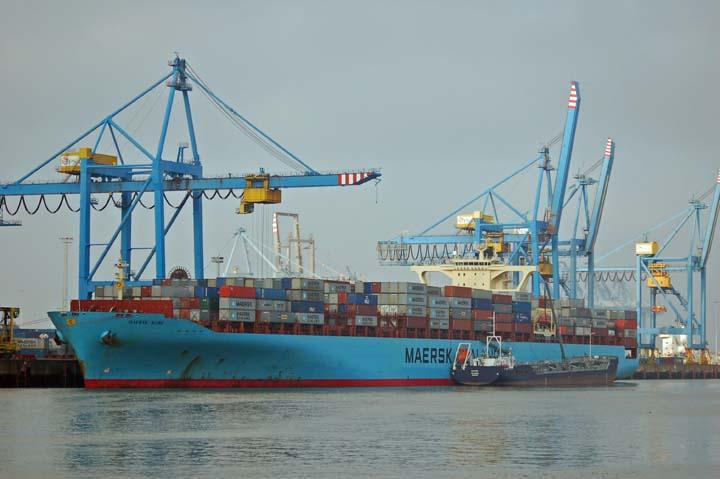 Maersk Kobe CHZ terminal