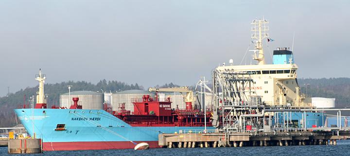 Nakskov Maersk at Gothenburg