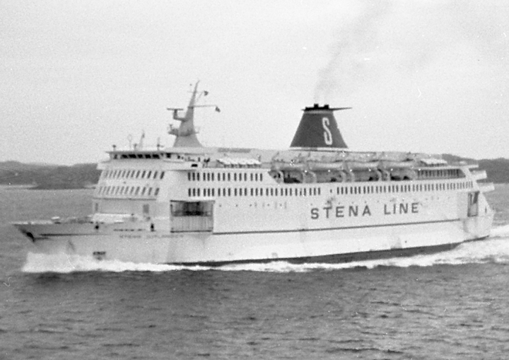 Stena Jutlandica approaching Gothenburg