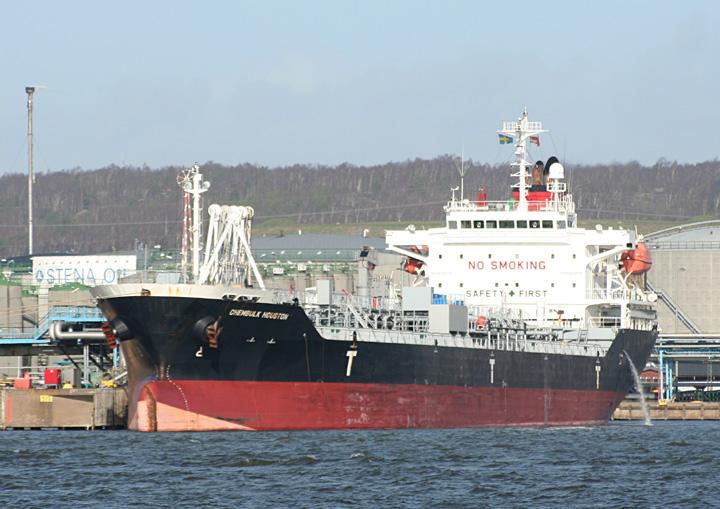 Chembulk Houston, berthed at Gothenburg