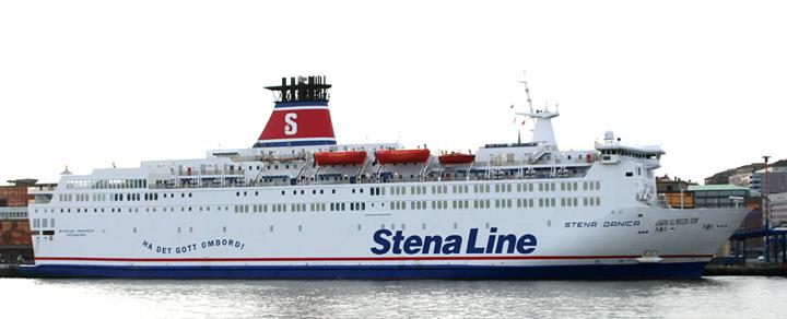 Stena Danica berthed at Majnabben, Gothenburg