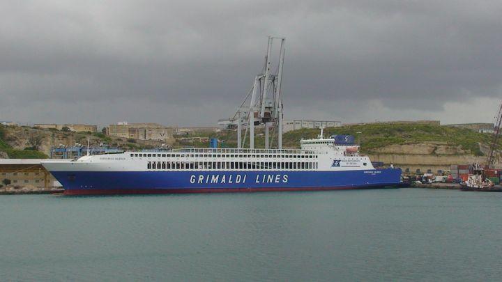 M/F Eurocargo Valencia in Valletta, Malta