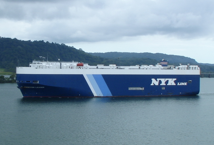 Name unkown - NYK Line vessel