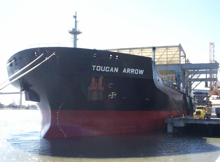 MV Toucan Arrow - Gear Bulk Carrier
