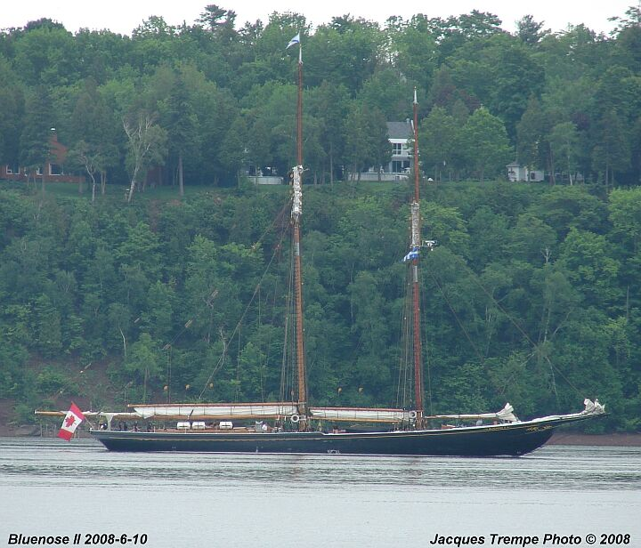 Sailing ship Bluenose II