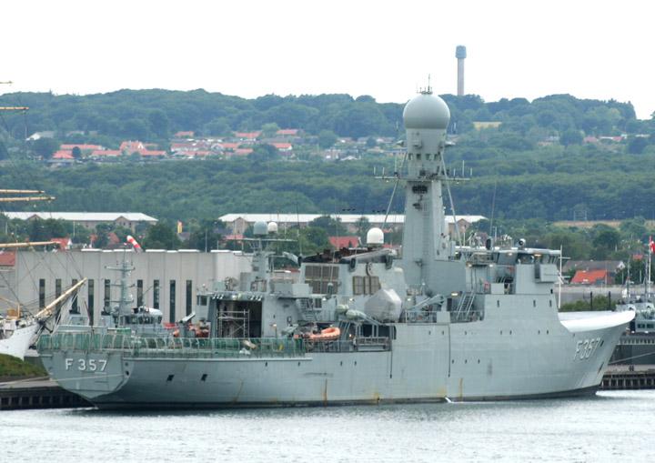 Thetis - Royal Danish Navy frigate F357