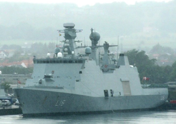 Absalon - L16 of the Royal Danish Navy