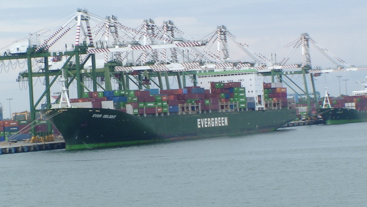 Container vessel Ever Delight