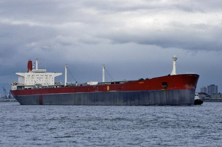 Tanker ss. Lyria