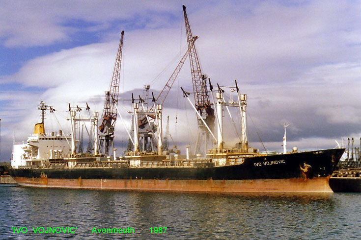 Yugoslavia registered cargo ship Ivo Vojnovic