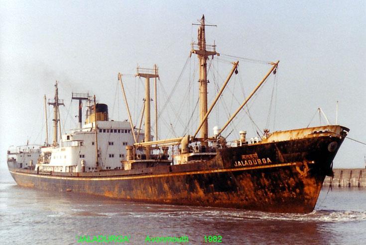 Flender, Lubeck built cargo ship Jaladurga