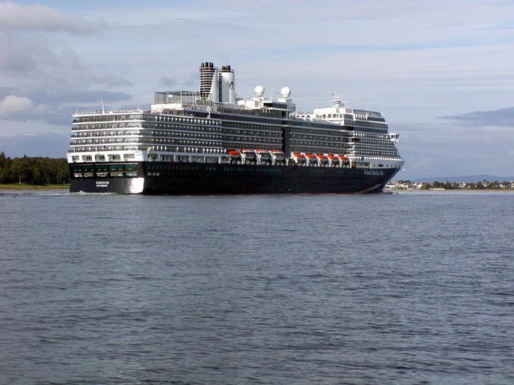 Rotterdam registered Cruise Ship Eurodam