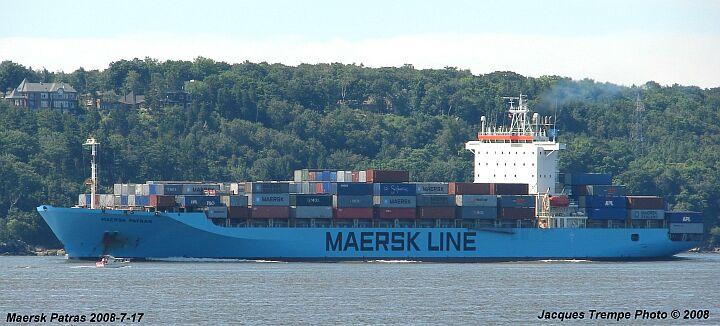 Contianer ship Maersk Patras