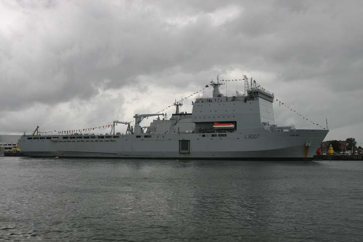 RFA Lyme Bay Landing ship dock