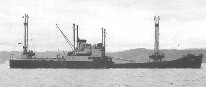 MV KOOTARA
