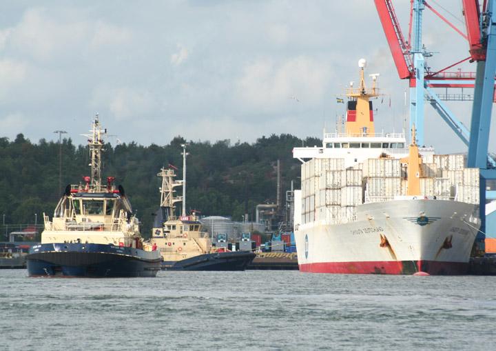 Chiquita Deutschland preparing to depart