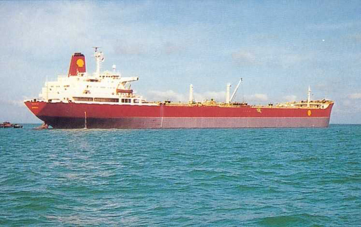 Shell tanker Neverita