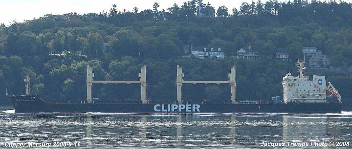 Bulker Clipper Mercury