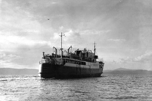 Loch Seaforth leaves Applecross