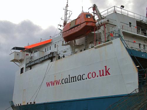The MV Muirneag