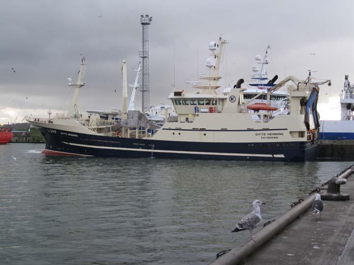 Fishing vessel Gitte Henning L349