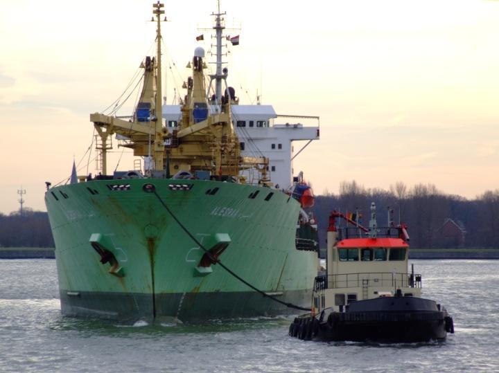 Cargo ship Alesraa