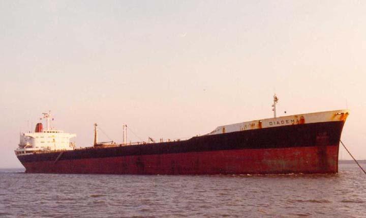 Shell Tanker Diadema