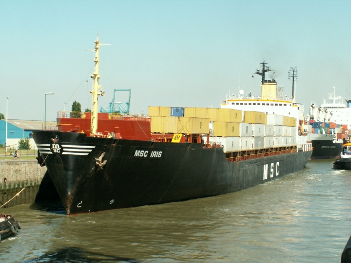 Container ship MSC Iris