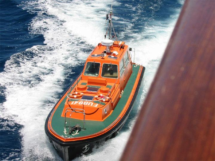 Pilot boat of Noumea