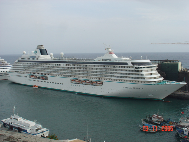 Crystal Serenity in Funchal-Madeira