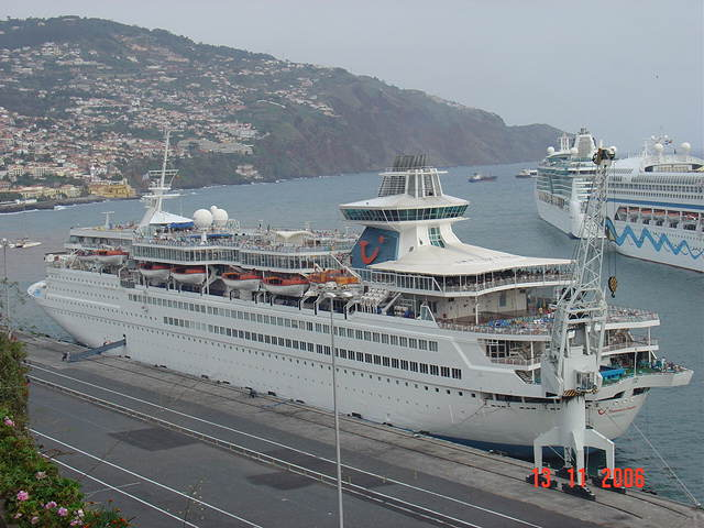 Thomson Destiny in Funchal-Madeira (Portugal)
