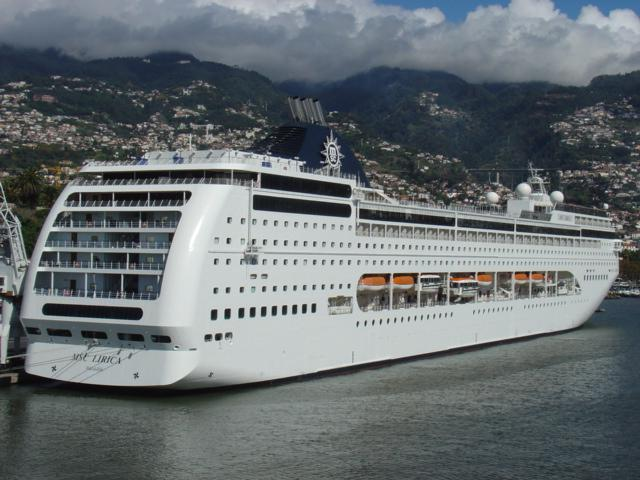 MSC Lirica in Funchal-Madeira (2006)