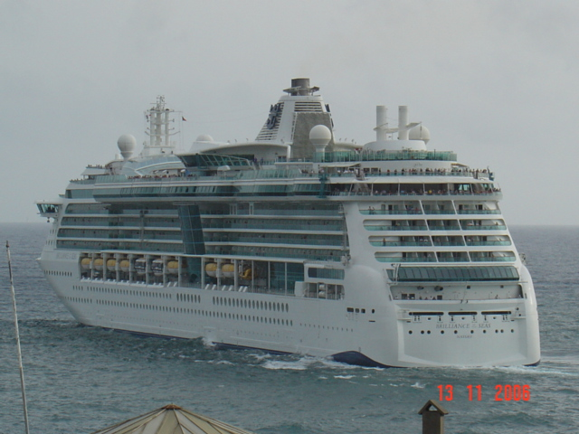 Ships And Harbours Photos  Departing Cruise Ship