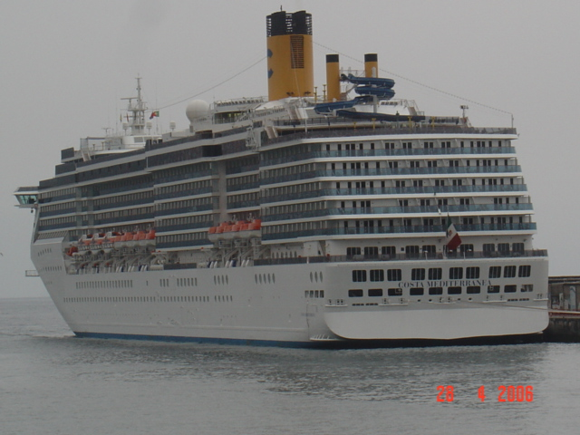 Ships And Harbours Photos  Cruise Ship Costa Mediterranea