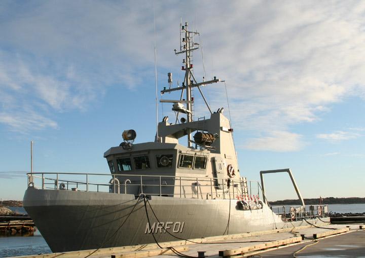 HMS Sökaren, Swedish Navy minesweeper MRF01
