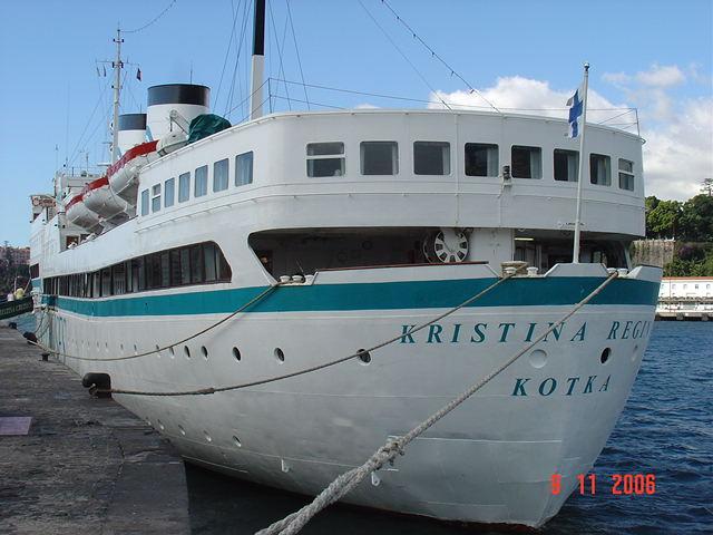 Aft of the cruise liner KRISTINA REGINA (1960)