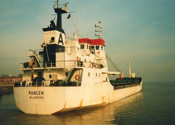 Cargo ship MANGEN