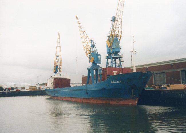 General cargo vessel SOKNA