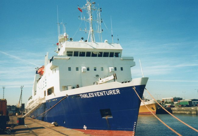 Off-shore vessel THALES VENTURER