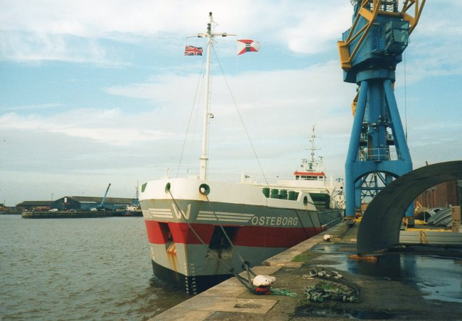 Cargo ship OSTEBORG