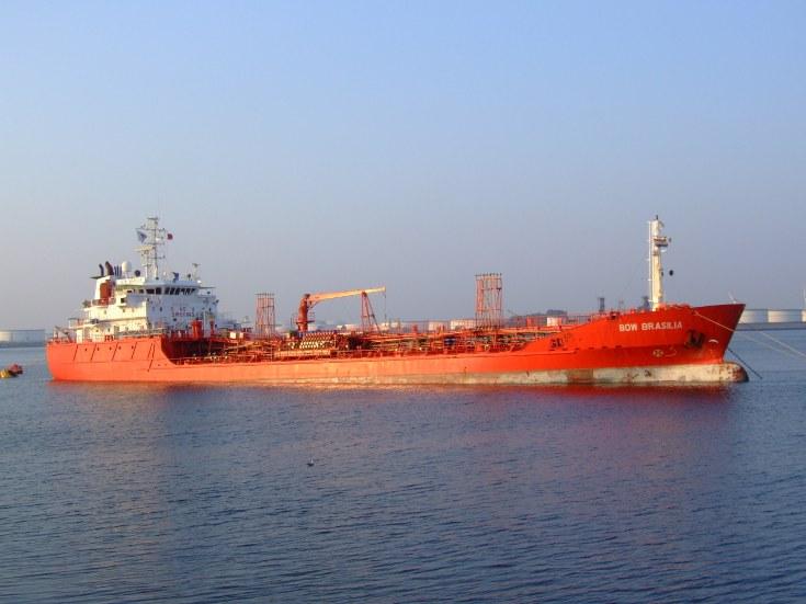 Chemical tanker Bow Brasilia