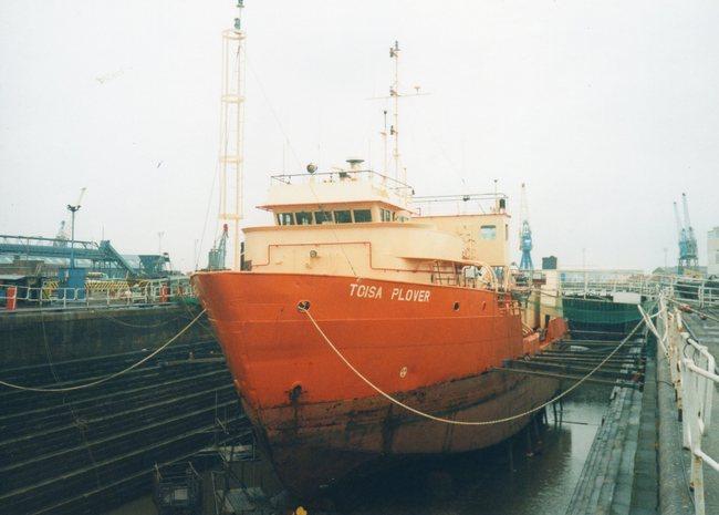 off-shore vessel TOISA  PLOVER