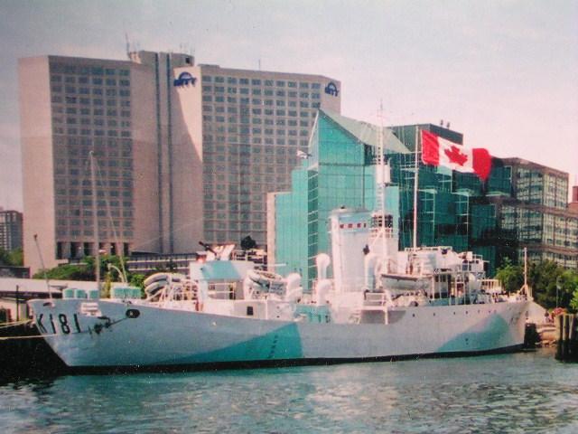 flower class corvette HMCS Sackville