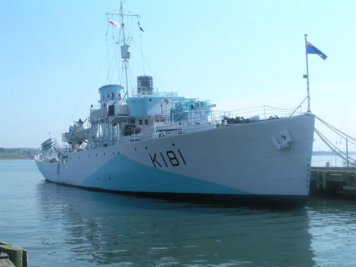 HMCS Sackville at Maritime Museum of the Atlantic