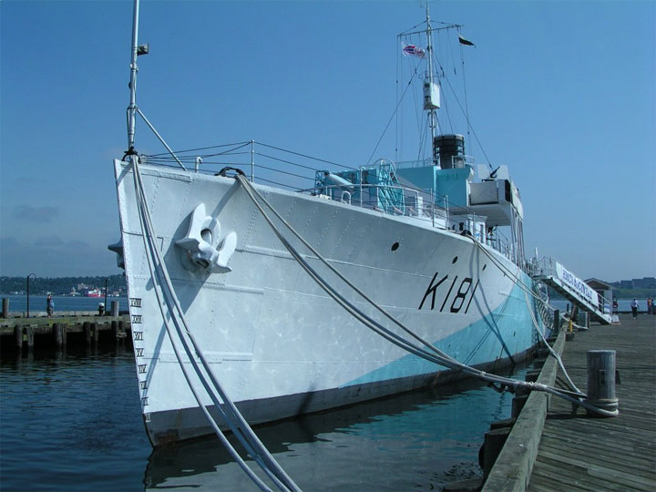 HMCS Sackville at Maritime Museum of Atlantic