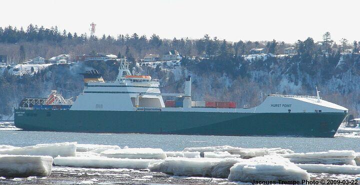 Ro-Ro ship Hurst Point
