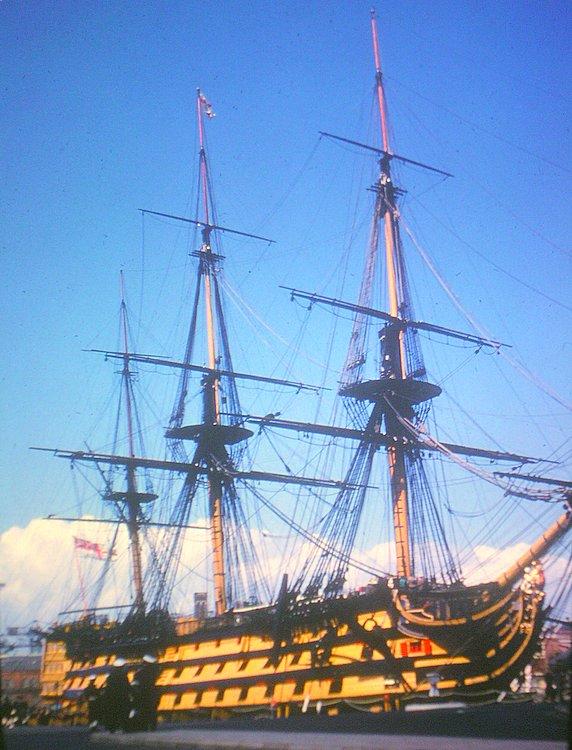 HMS Victory, Portsmouth, U.K.1966