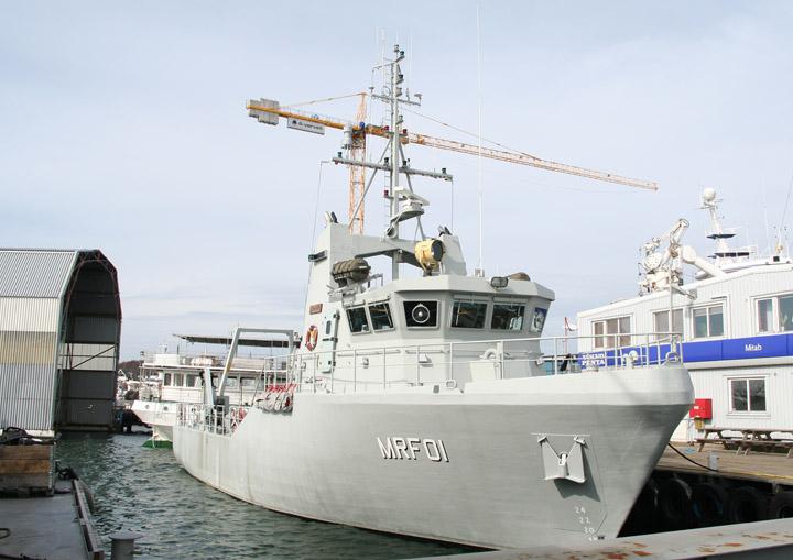 HSwMS Sökaren, Swedish Navy minesweeper MRF01